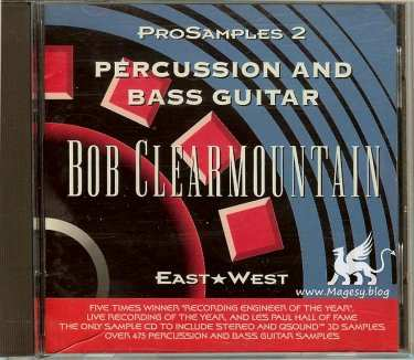 East West Bob Clearmountain Percussion And Bass AKAi
