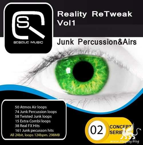 Reality ReTweak: Junk Percussion And Airs ACiD WAV-MAGNETRIXX