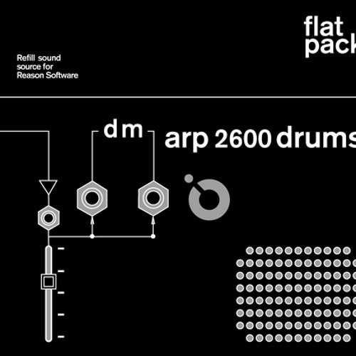 ARP 2600 Drums Reason REFiLL