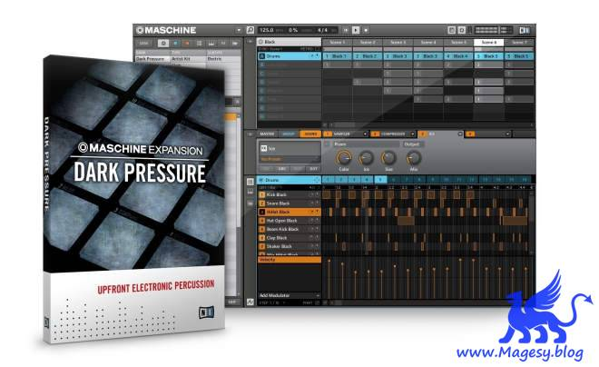 Dark Pressure v2.0.1 MASCHiNE EXPANSiON