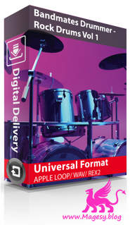 Drummer Rock Drums Vol.1 MULTiFORMAT