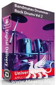 Drummer Rock Drums Vol.2 MULTiFORMAT SCD-AMPLiFYiSO