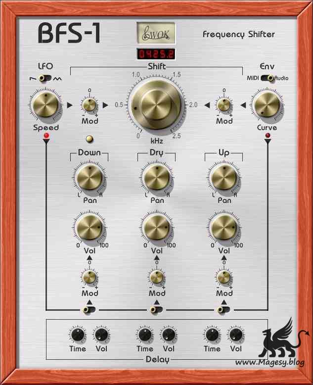 WOK BFS-1 Frequency Shifter v1.0 VST WiN x86-ST3RE0
