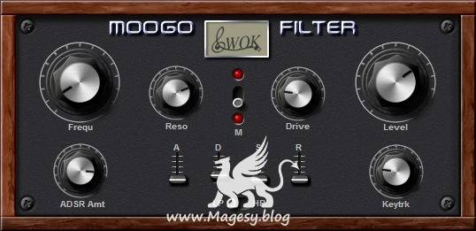 WOK Moogo Filter v1.2 VST x86 WiN-ASSiGN