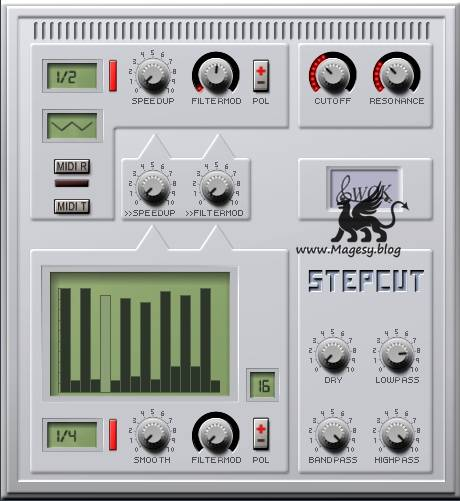 WOK StepCut Modulated Filter v1.0 VST WiN x86-ST3RE0