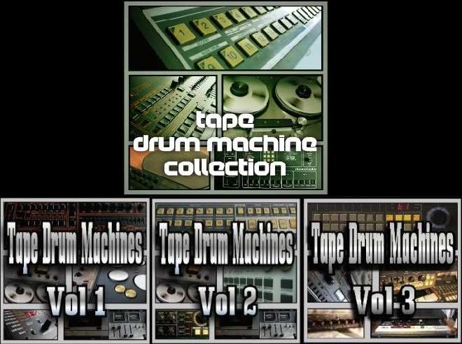 Tape Drum Machine Collection MULTiFORMAT