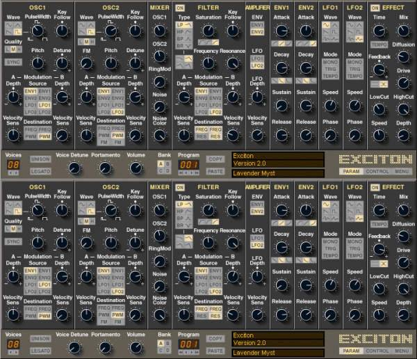 Groovecube Exciton v2.0.1 VST x86 WiN-R2R