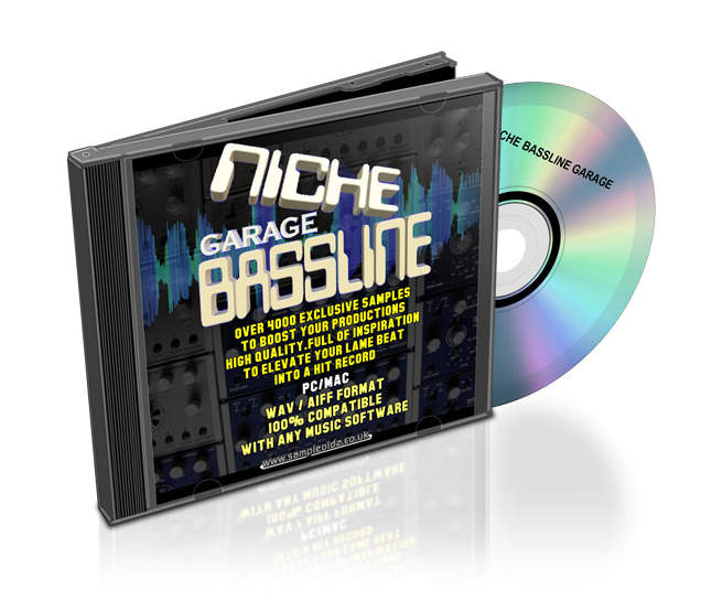 Niche Garage Bassline Sample Pack WAV AiFF