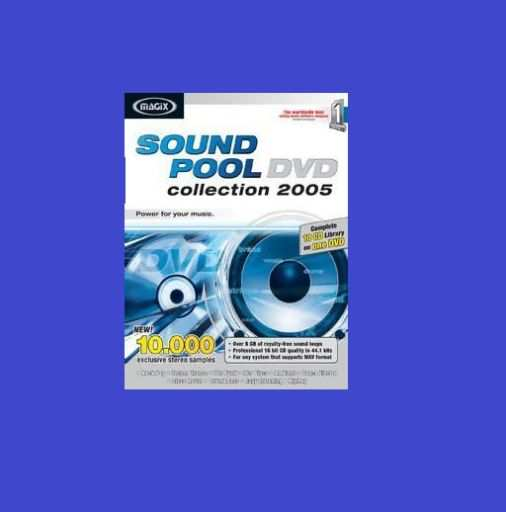 MAGiX Soundpool DVD Collection 2005 WAV-BSOUNDZ