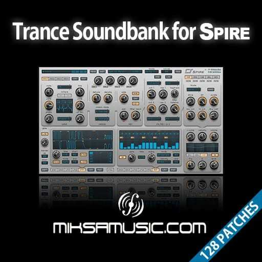 Trance Soundbank for SPiRE-SYNTHiC4TE