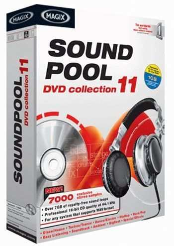 MAGiX Soundpool DVD Collection Vol.11 WAV