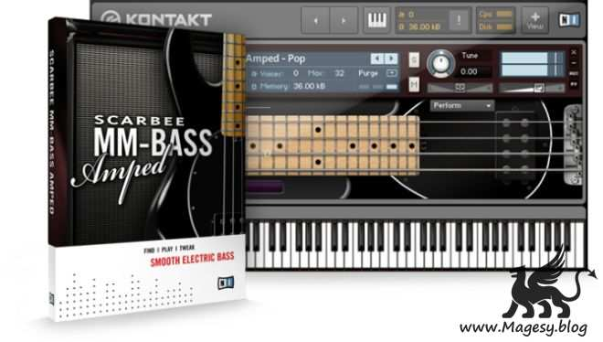 Scarbee MM-Bass Amped v1.1.0 KONTAKT