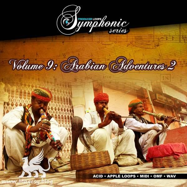 Symphonic Series Vol.9 Arabian Adventures Vol.2 ACiD WAV MiDi OMF
