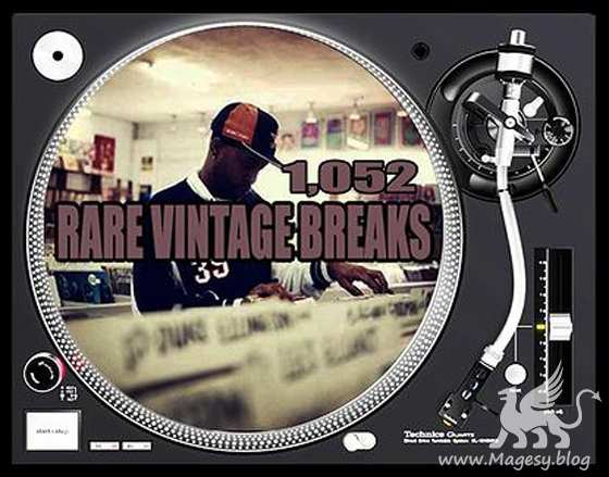 Rare Vintage Breaks and Vinyl Drums WAV MP3