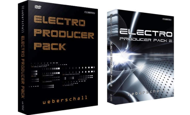 Electro Producer Pack 1 and Pack 2 ELASTiK-AudioP2P