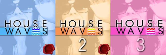 House Waves Vol.1-3 WAV MiDi-MaGeSY