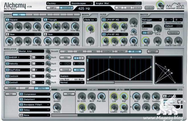 Camel Audio Alchemy v1.0 WiN MAC DVDR-DYNAMiCS