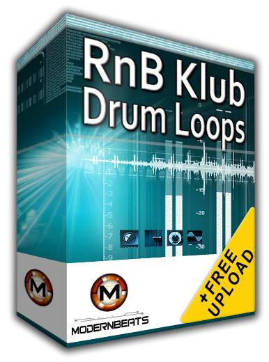 RnB Klub Drum Loops Vol.1 WAV ACiD SCD-SPiRiT