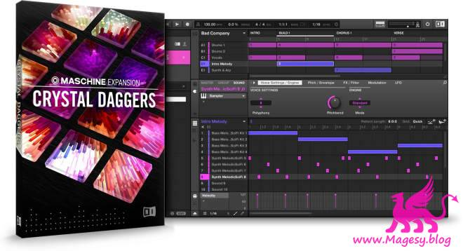 Crystal Daggers v2.0.1 MASCHiNE EXPANSiON