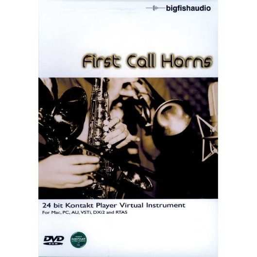 First Call Horns VSTi DXi RTAS AU HYBRiD DVDR-DYNAMiCS