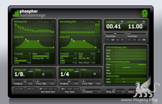 Phosphor v1.2.0 AU VSTi WiN MAC