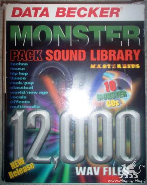 DataBecker-Masterbits Monster Pack Sound Library 12,000 Sample CD collection (FULL PACK)