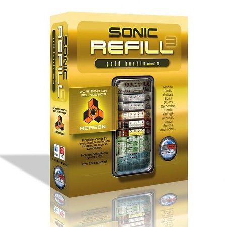 Sonic Refills Gold Download Edition REFiLL-AudioP2P