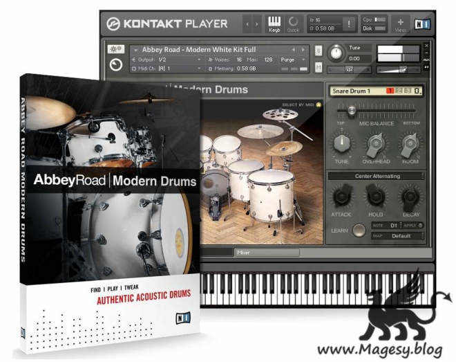 Abbey Road Modern Drums KONTAKT DVDR-DYNAMiCS