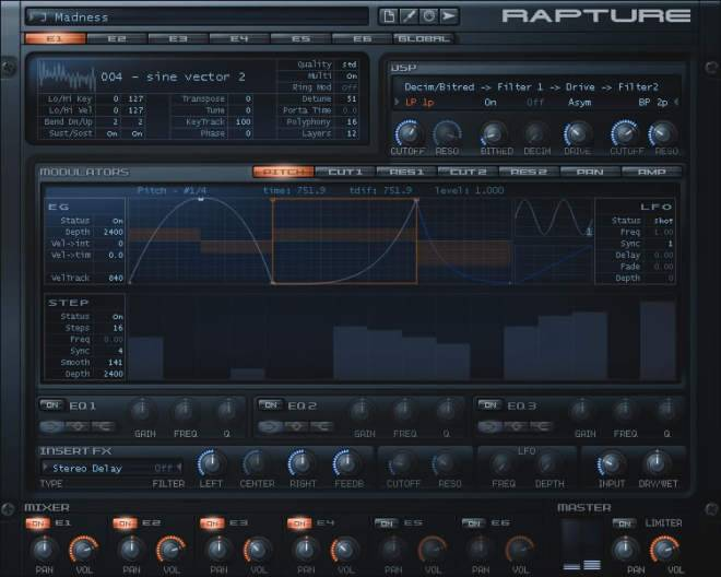 Cakewalk Rapture v2.0.5.x WiN MAC-R2R-HEXWARS