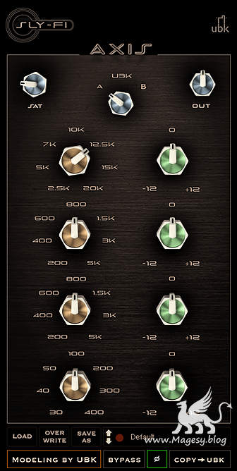 Axis EQ v1.0.3 AAX VST2 x86 x64 WiN-AudioUTOPiA