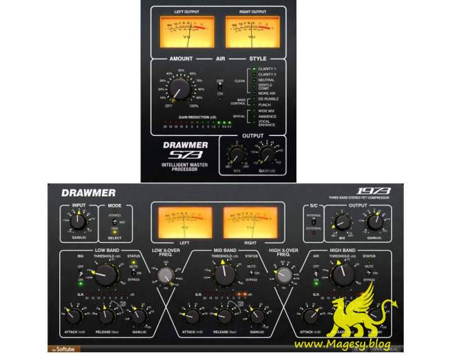 Drawmer S73 and Drawmer 1973 VST2 WiN-AudioUTOPiA