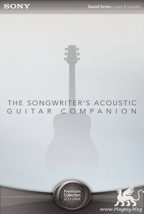 The Songwriters Acoustic Guitar Companion CD1-2 24BiT WAV ACiD
