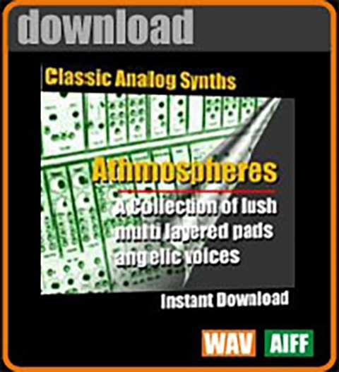 Classic Analog Synth Music Loops Athmospheres WAV AiFF-AudioP2P