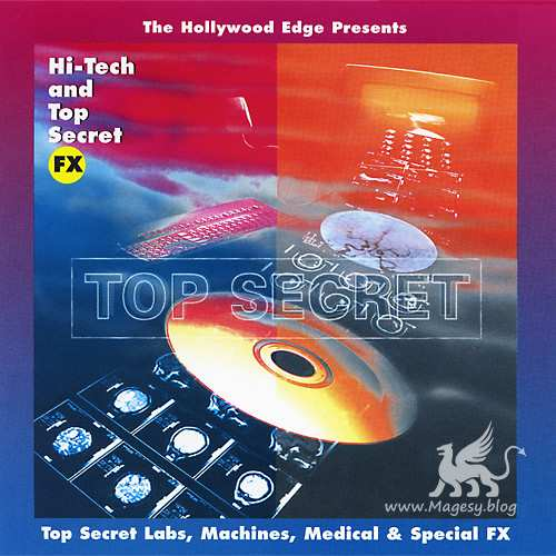 Hollywood Edge Hi-Tech And Top Secret Effects WAV
