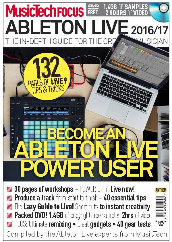 Music Tech Focus - Ableton Live 2016-2017
