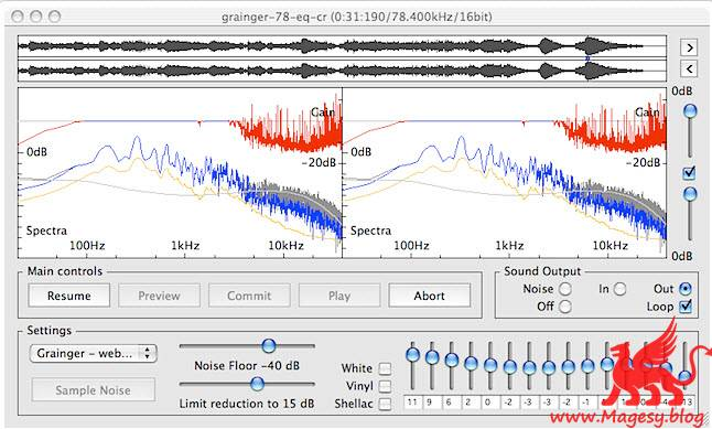 Audio Restoration DeNoise and DeNoiseLF v2.8.4 MULTiLANG WiN MAC