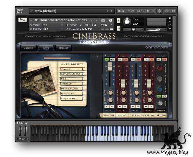 CineBrass Descant Horn KONTAKT