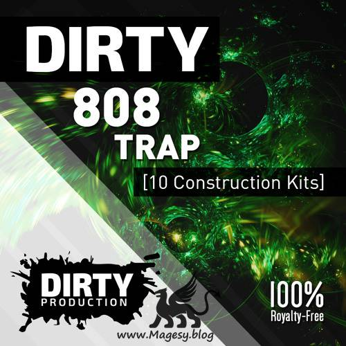 Dirty 808 Trap Kits WAV MiDi-DiSCOVER