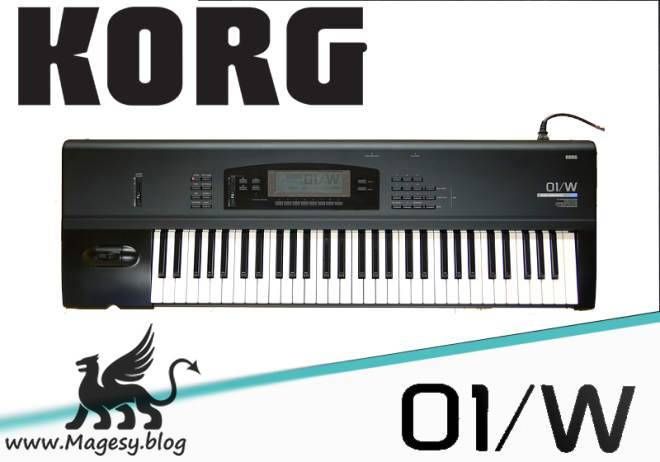 KORG 01-W AKAi INTERNAL-PHOTONE