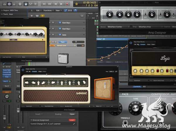 Logic Pro X Know-How Amp Designer TUTORiAL-SYNTHiC4TE