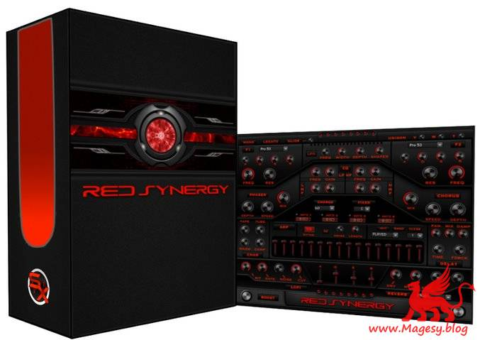Red Synergy KONTAKT DVDR-DiSCOVER