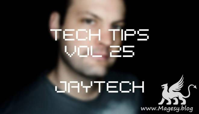 Tech Tips Vol.25 TUTORiAL-SYNTHiC4TE