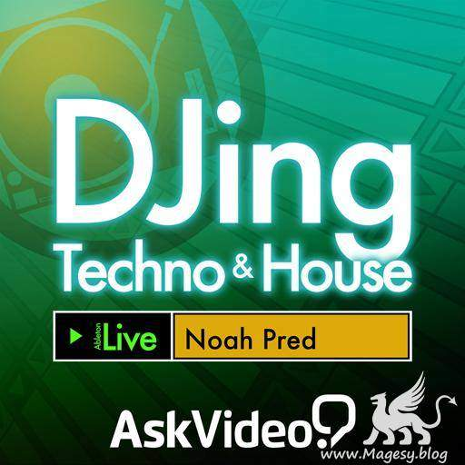 DJing Techno and House TUTORiAL | Images From Magesy® R Evolution™