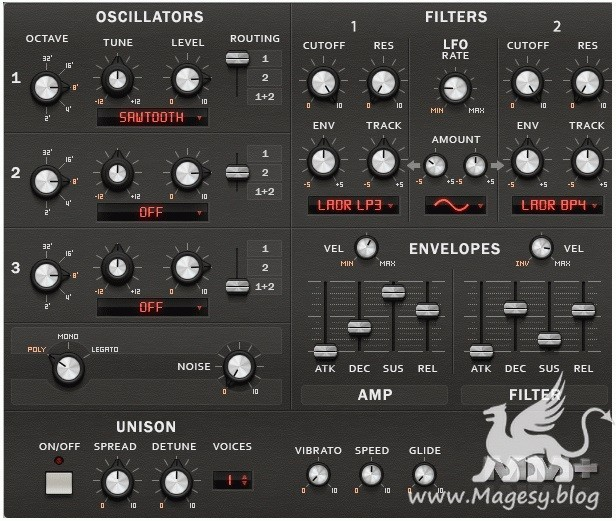 MMPlus KONTAKT SYNTHiC4TE   Images From Magesy® R Evolution™