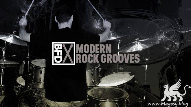 Modern Rock Groove Pack for BFD3 | Images From Magesy® R Evolution™