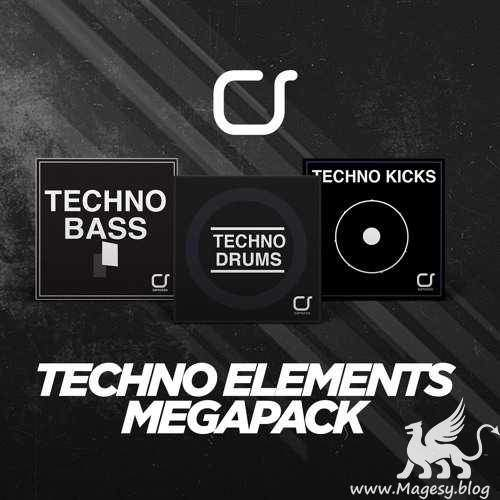 Techno Elements Megapack WAV | Images From Magesy® R Evolution™