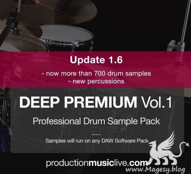 Deep Premium Vol.1 v1.6 For ABLETON PROJECT WAV | Images From Magesy® R Evolution™