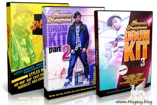 B. Mayfield Boon Doc Kits Vol.1,2,3 WAV | Images From Magesy® R Evolution™