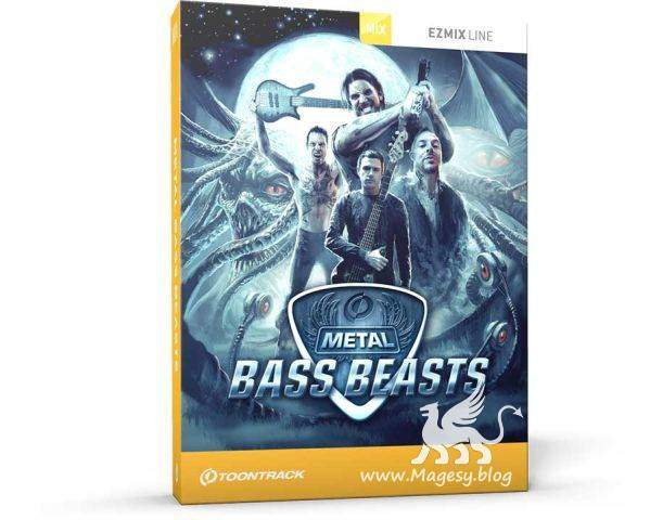 EMX Metal Bass Beasts v1.0.0 WiN MAC R2R | Images From Magesy® R Evolution™