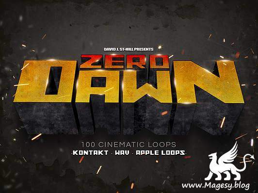 Zero Dawn Cinematic Loops KONTAKT AiFF